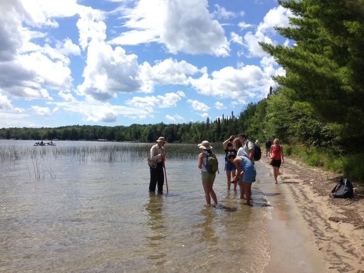 class in burt lake